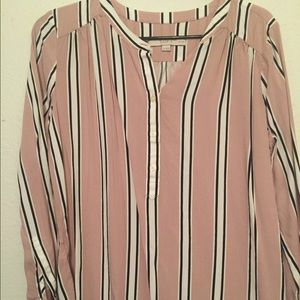 Striped blouse LOFT